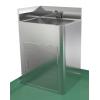 不锈钢箱式带感应水龙头水池